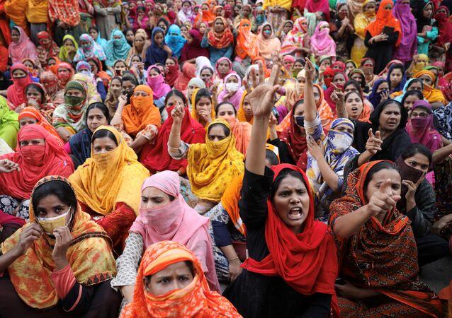 مظاهرات في بنغلاديش