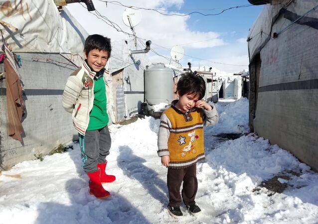 مخيمات للاجئين السوريين في لبنان