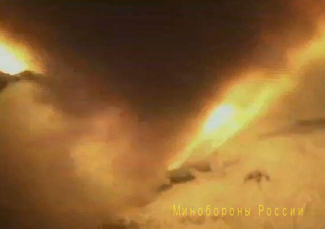 تجربة صاروخ منظومة أفانغارد