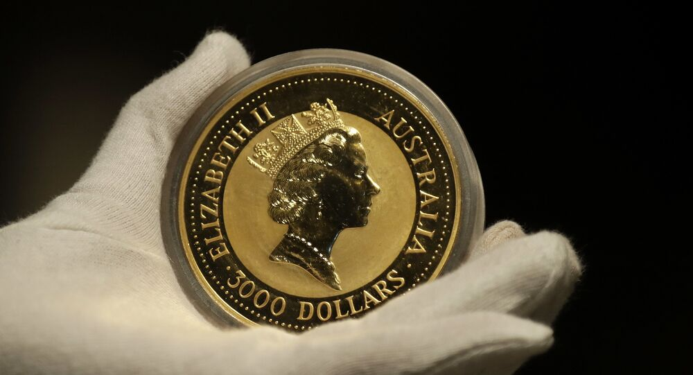 عملة نقدية ذهبية