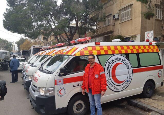 استلمت 16 سيارة إسعاف يابانية...الهلال الأحمر السوري: جاهزون لإرسال قوافل إلى الركبان