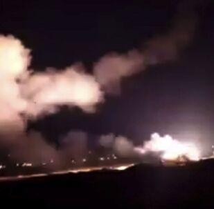 الدفاع الجوي السوري يصد هجوما