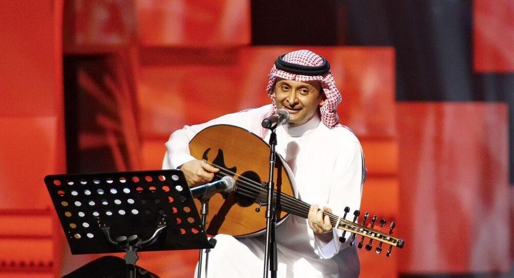 المطرب السعودي عبد المجيد عبد الله