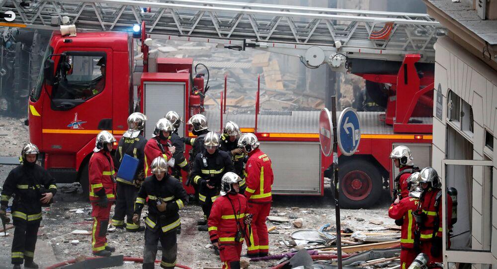 انفجار وسط باريس