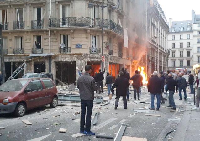 انفجار وسط العاصمة الفرنسية باريس