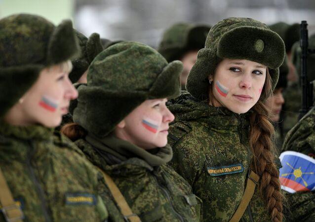 جنديات روسيات