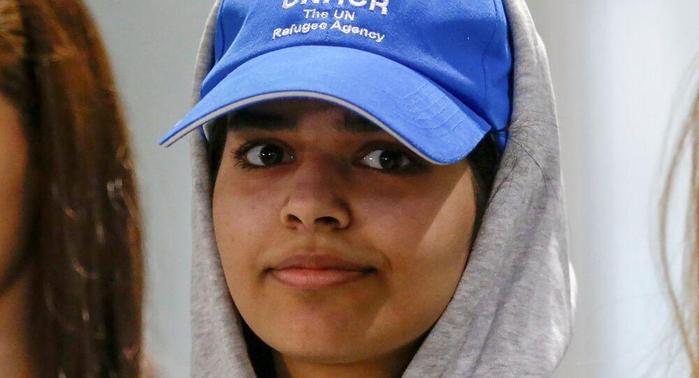 الفتاة السعودية رهف القنون