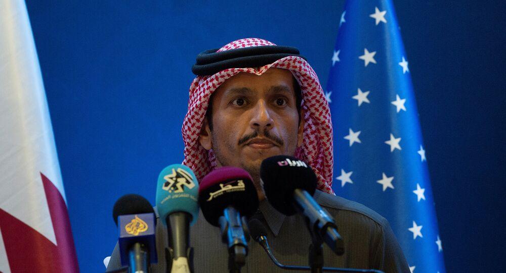 وزير الخارجية القطري، الشيخ محمد بن عبد الرحمن آل ثاني