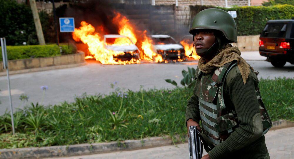 انفجار وإطلاق نار في فندق في كينيا