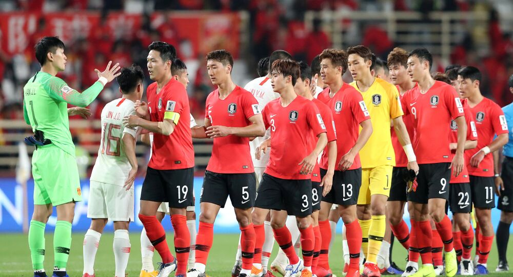 كوريا الجنوبية والصين كأس آسيا 2019