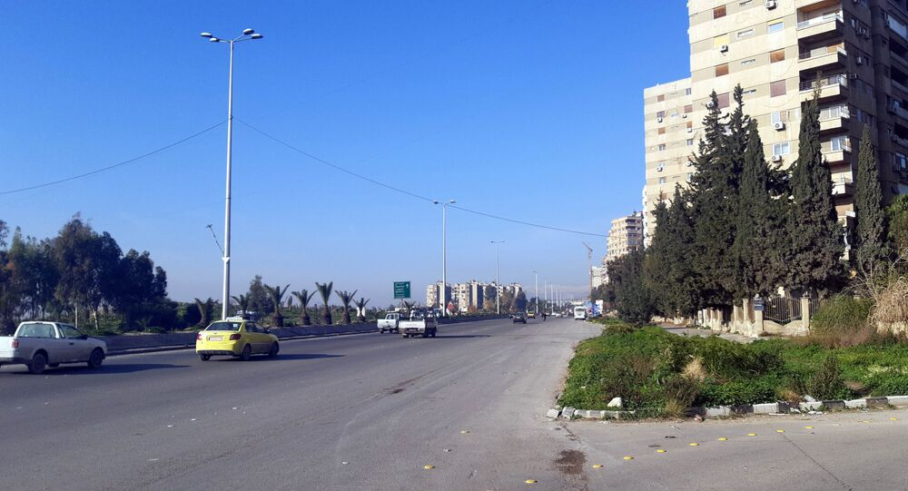 المتحلق الجنوبي دمشق