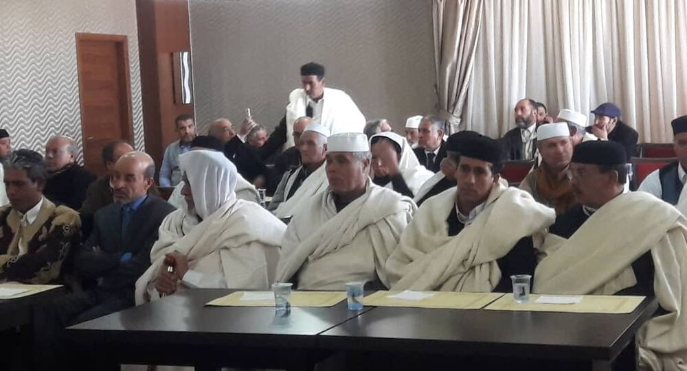 لقاء قبائل طرابلس وبني وليد لوقف اشتباكات العاصمة، 20 يناير/كانون الثاني 2019