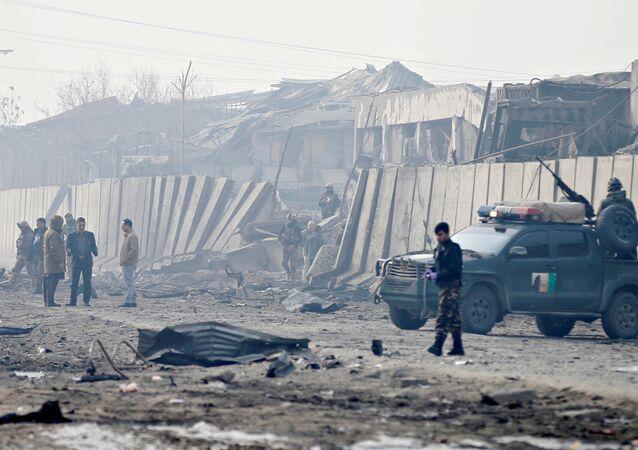 تفجير انتحاري في أفغانستان