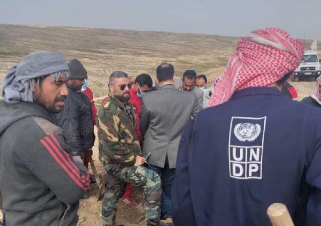 العثور على جثة جندي سوري سليمة بالكامل ضمن مقبرة جماعية من عام 2013