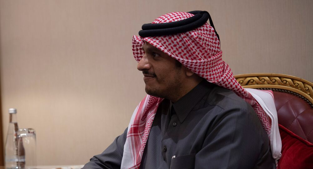 وزير خارجية قطر الشيخ محمد بن عبد الرحمن آل ثاني