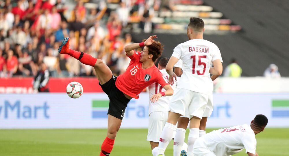 مباراة قطر وكوريا الجنوبية كأس آسيا 2019