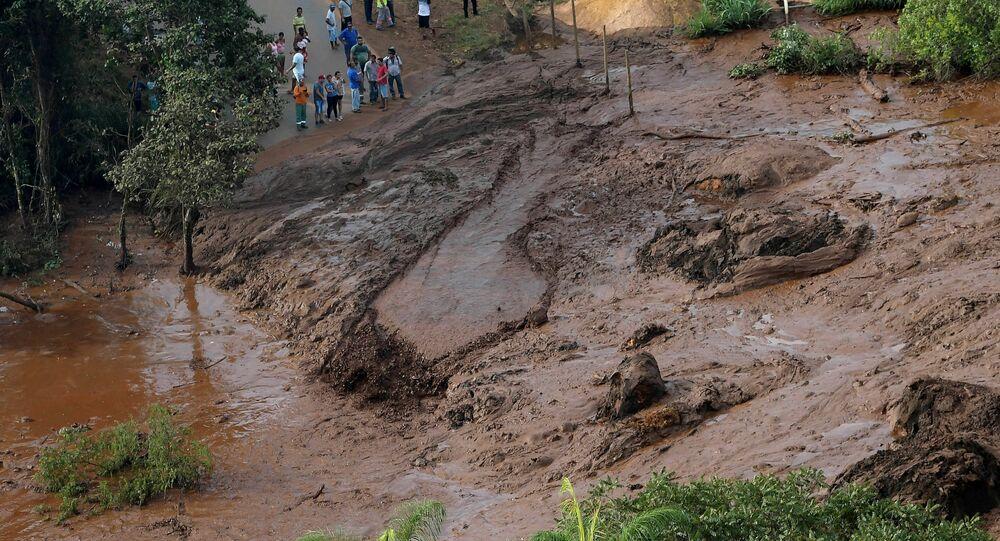 انهيار سد في البرازيل