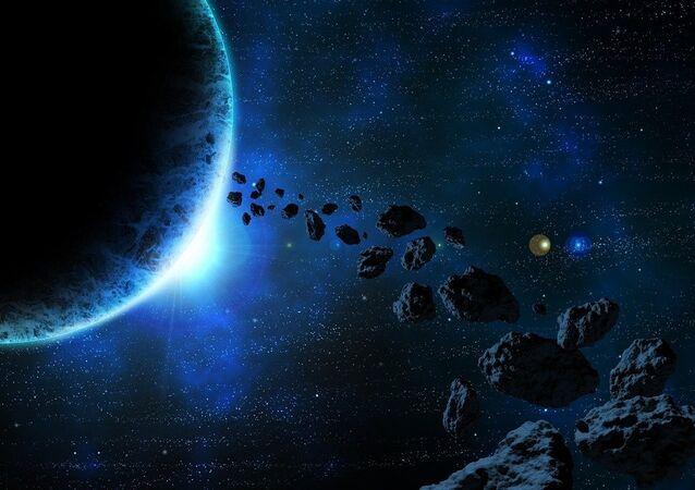 مخلفات فضائية كويكبات