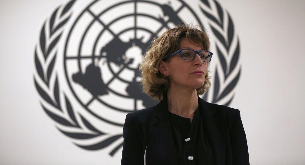 أغنيس كالامارد، المقررة الأممية بشأن عمليات الاغتيال خارج القضاء التي تحقق في قضية خاشقجي
