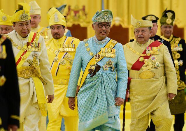 الملك الجديد في ماليزيا، عبد الله ريات الدين المصطفى بالله، كوالالمبور، يناير/ كانون الثاني 2019