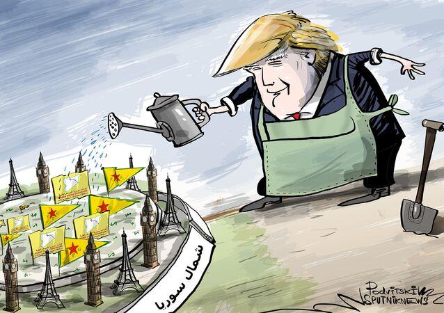 أمريكا وحلفائها يدافعون عن وحدات حماية الشعب الكردية