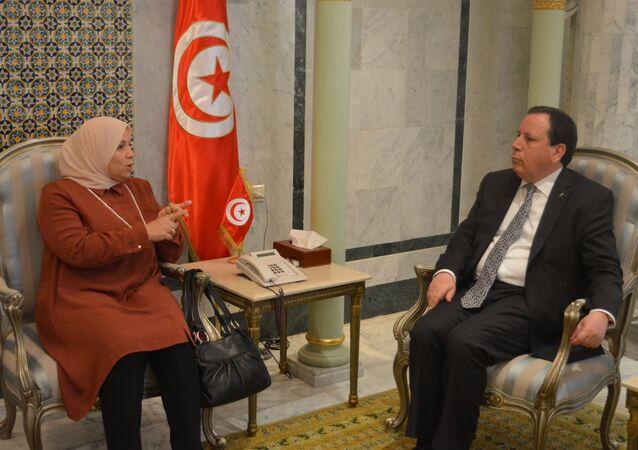وزير الخارجية التونسي