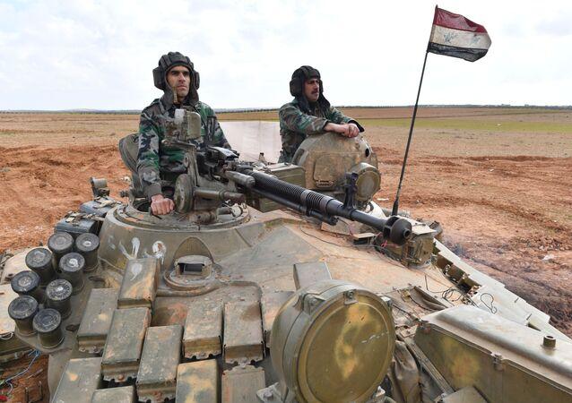 جنود الجيش العربي السوري