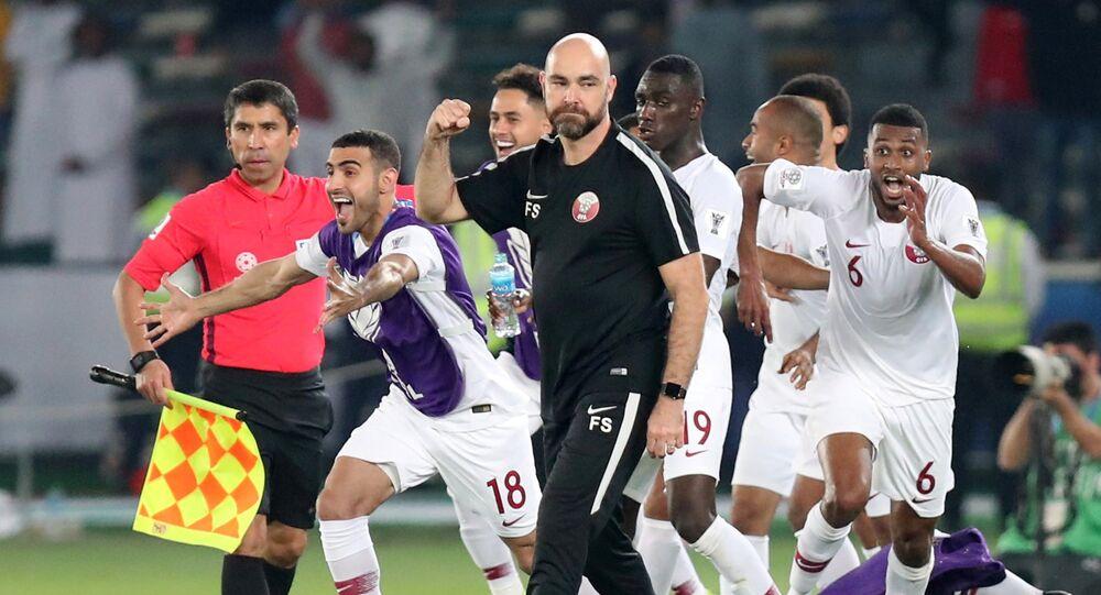 هكذا تناولت صحف دول المقاطعة فوز منتخب قطر بكأس آسيا 2019 - Sputnik Arabic
