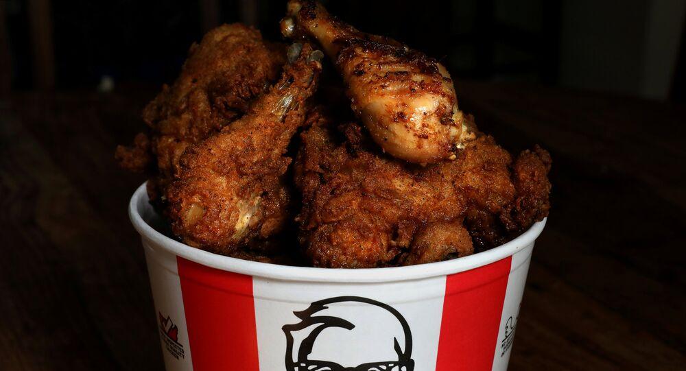 دجاج كنتاكي المقلي