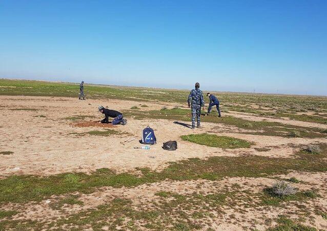 .. القوات العراقية تدمر ما يخفيه داعش في باطن الأرض