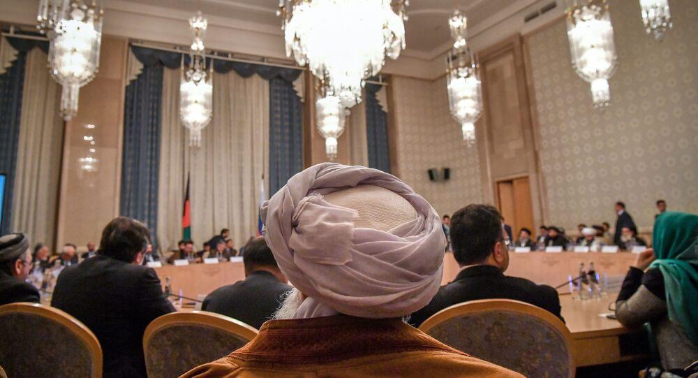 محادثات و مفاوضات بين طالبان والمعارضة الأفغانية (أفغانستان) في موسكو 5 فبراير/ شباط 2019