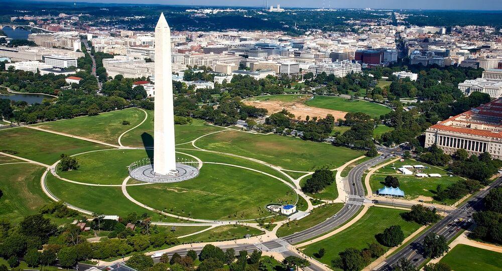 مسلة واشنطن في واشنطن الأمريكية