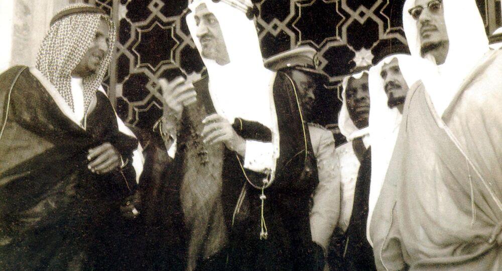 الملك فيصل عام 1952