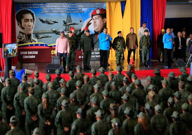 الرئيس الفنزويلي، نيكولاس مادورو