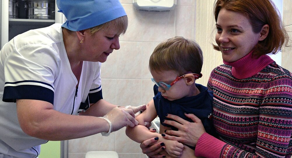 التطعيم ضد الحصبة
