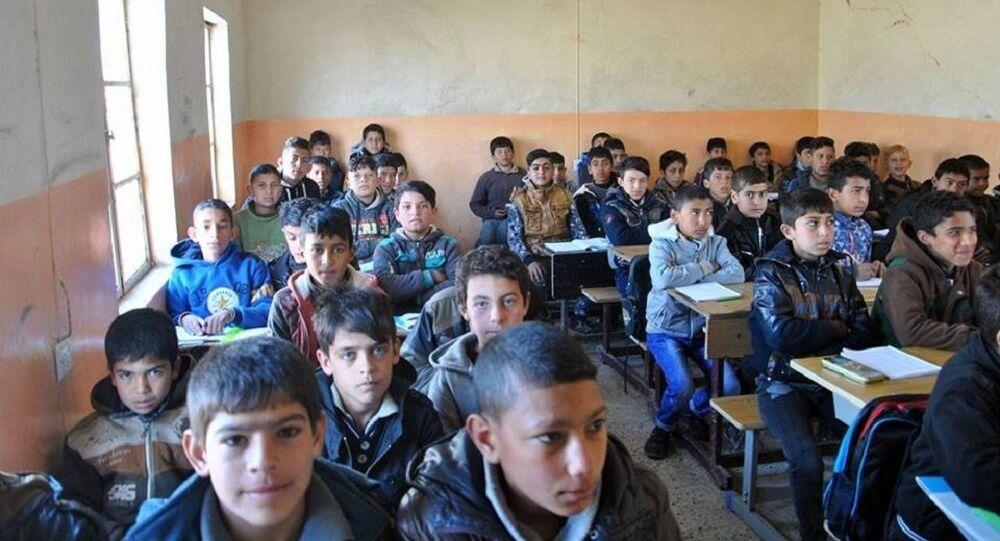 بالصور .. أقدم مدارس نينوى تستعيد حياتها بزوال داعش