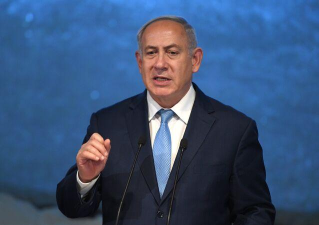 رئيس الوزراء الإسرائيلي بنيامين نتنياهو في موسكو، 29 يناير/ كانون الثاني 2018