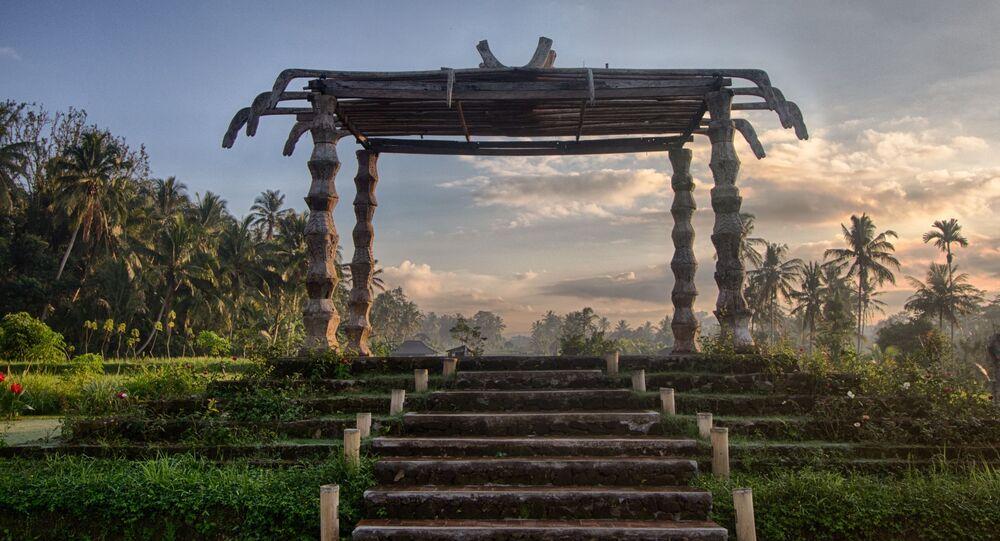 بلدة أوبود، بالي، إندونيسيا