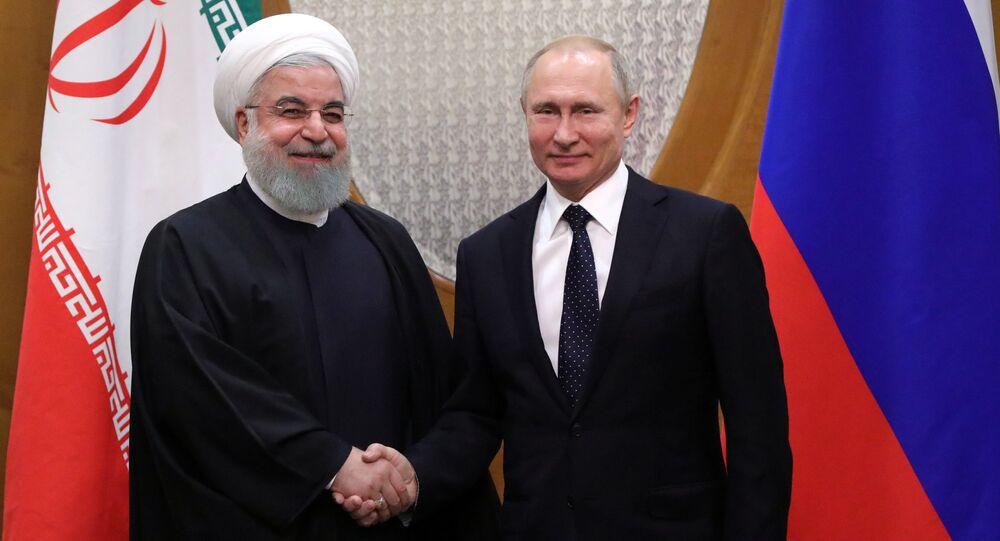 بوتين يرد على دعوة روحاني لزيارة إيران - Sputnik Arabic