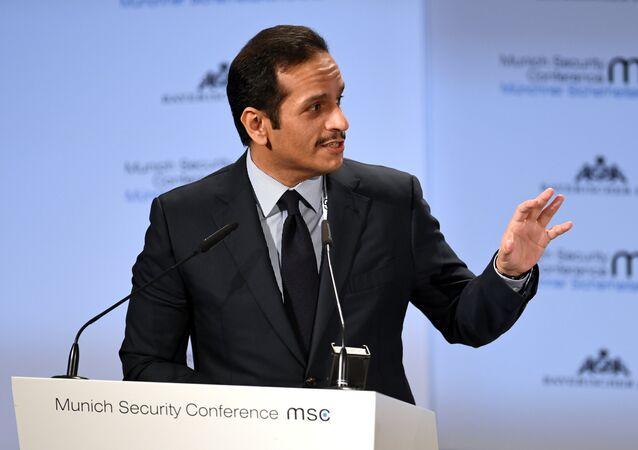 وزير خارجية قطر محمد بن عبد الرحمن آل ثاني