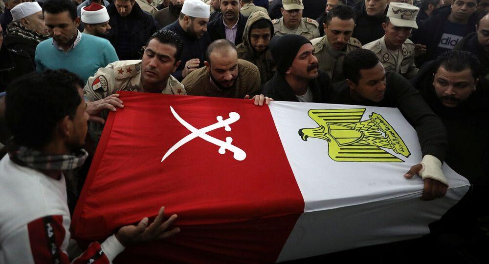 تشييع جنود مصريين