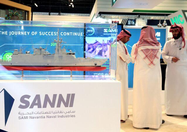 انطلاق فعاليات الملتقى والمؤتمر العالمي للصناعات الدفاعية - معرض آيدكس 2019 في أبو ظبي، الإمارات 17 فبراير/ شباط 2019