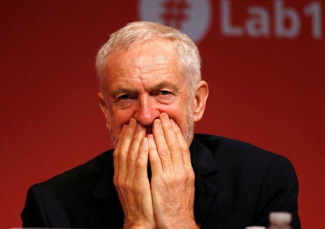 جيرمي كوربين رئيس حزب العمال البريطاني