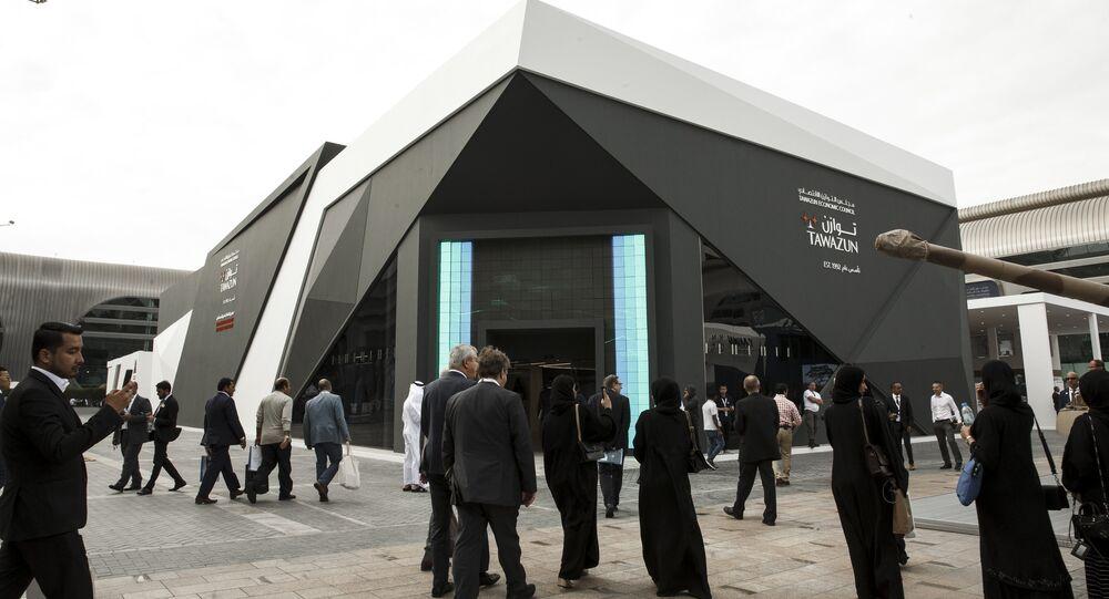 معرض آيدكس 2019 في أبو ظبي، الإمارات 18 فبراير/ شباط 2019
