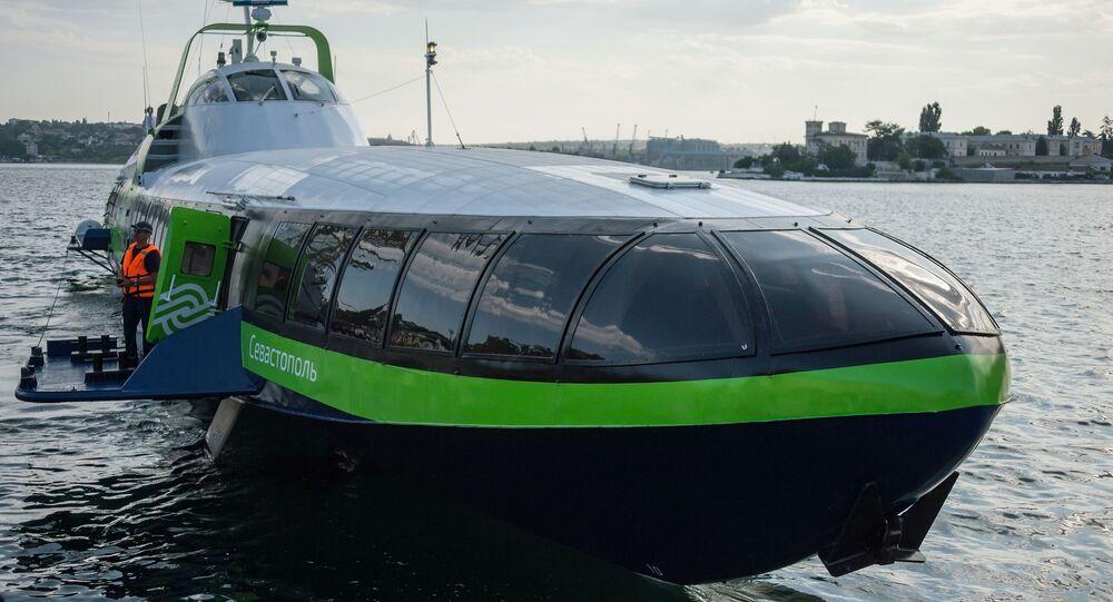 سفينة نقل الركاب السريعة كوميتا 120