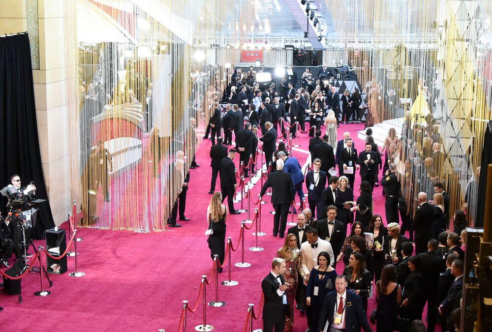 مراسم الحفل الـ 91 لتوزيع جوائز أوسكار السينمائية في هوليوود، لوس أنجلوس، كاليفورنيا، الولايات المتحدة 24 فبراير/ شباط 2019
