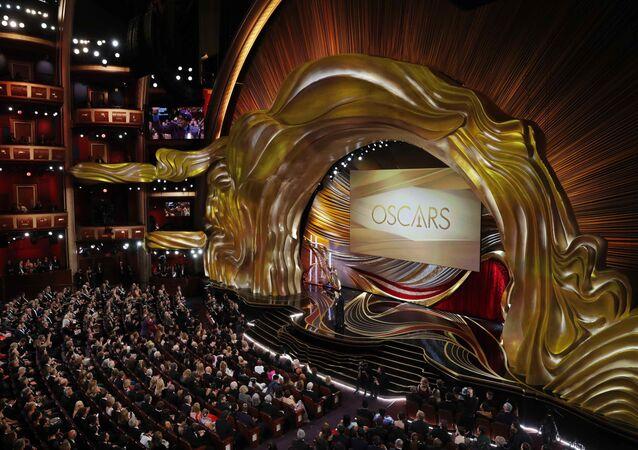 في مراسم الحفل الـ 91 لتوزيع جوائز أوسكار السينمائية في هوليوود، لوس أنجلوس، كاليفورنيا، الولايات المتحدة 24 فبراير/ شباط 2019
