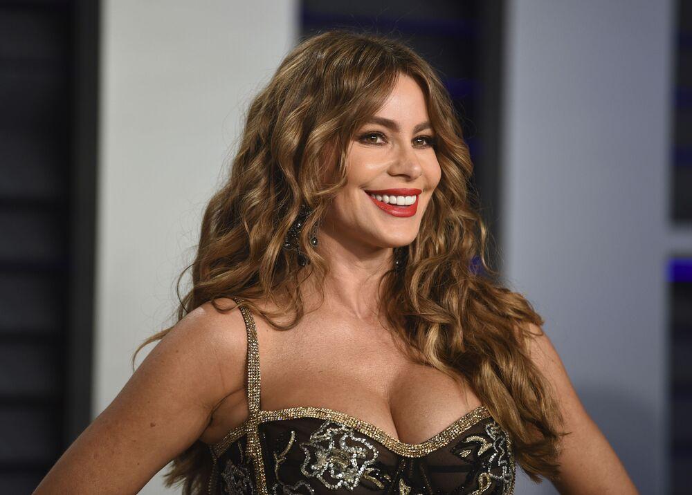 الممثلة صوفيا فيغارا، خلال مراسم الحفل الـ 91 لتوزيع جوائز أوسكار السينمائية في هوليوود، لوس أنجلوس، كاليفورنيا، الولايات المتحدة 24 فبراير/ شباط 2019