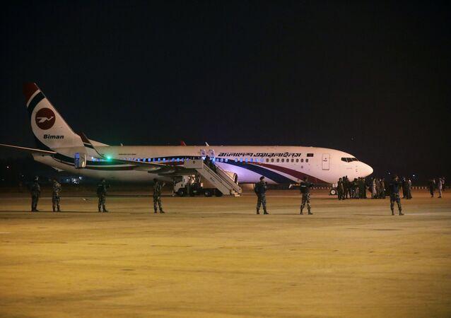 طائرة من بنغلاديش