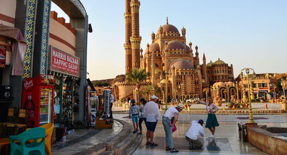 مسجد السحاب بمدينة شرم الشيخ في مصر